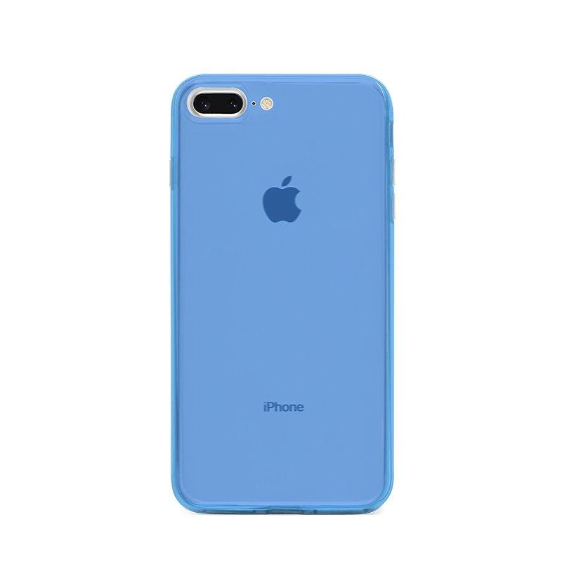 Ultra Tenký plastový kryt na iPhone 7/8 Plus Modrý