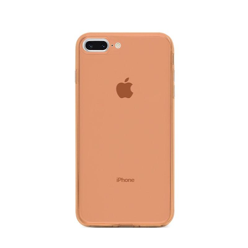 Ultra Tenký plastový kryt na iPhone 7/8 Plus Oranžový
