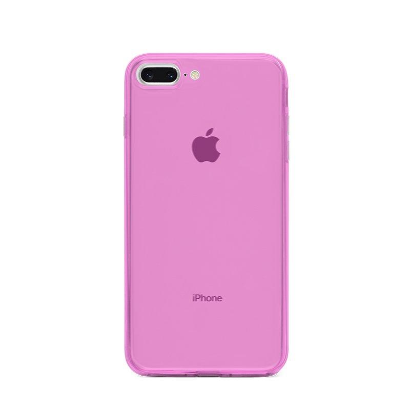 Ultra Tenký plastový kryt na iPhone 7/8 Plus Ružový