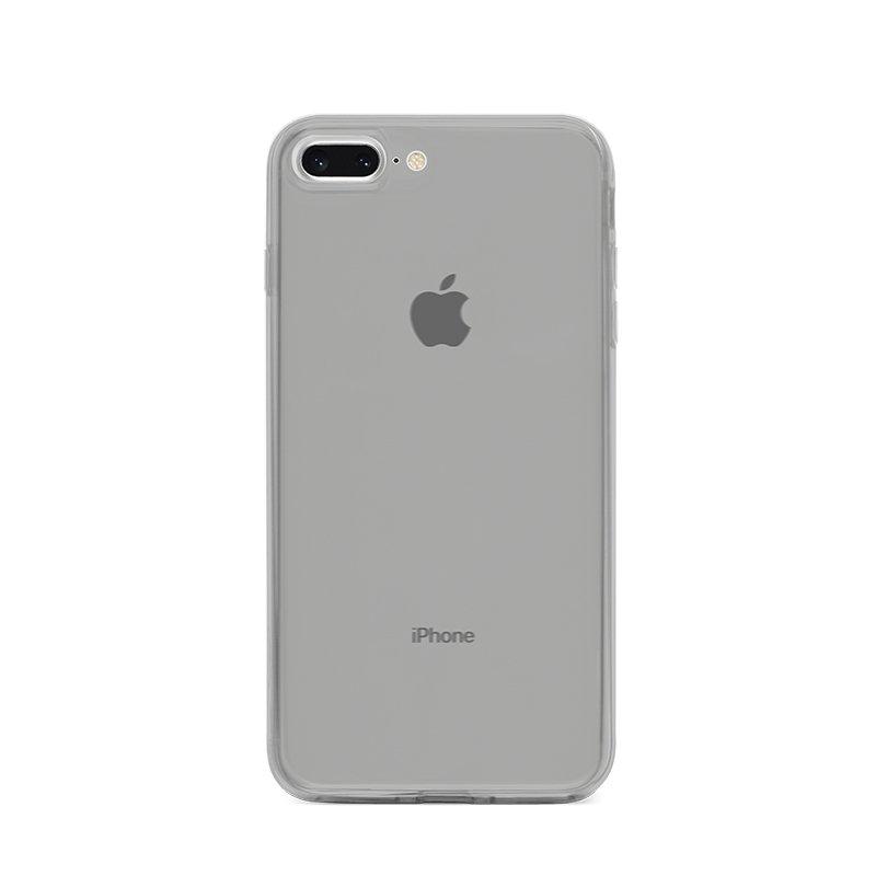 Ultra Tenký plastový kryt na iPhone 7/8 Plus Sivý