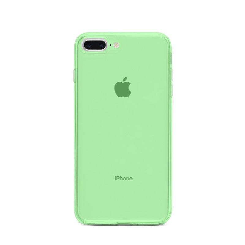 Ultra Tenký plastový kryt na iPhone 7/8 Plus Zelený