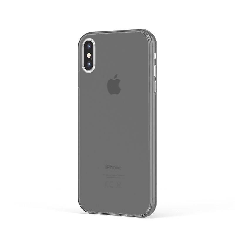 Ultra Tenký plastový kryt na iPhone XS Čierný