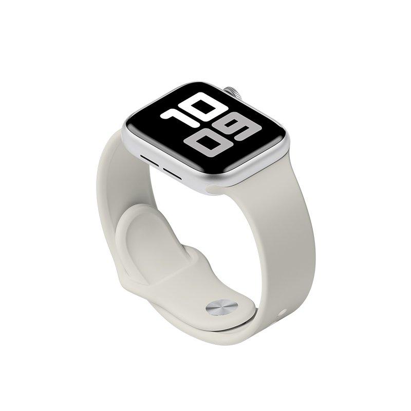 Remienok na Apple Watch 42mm/44mm S/M Sivý