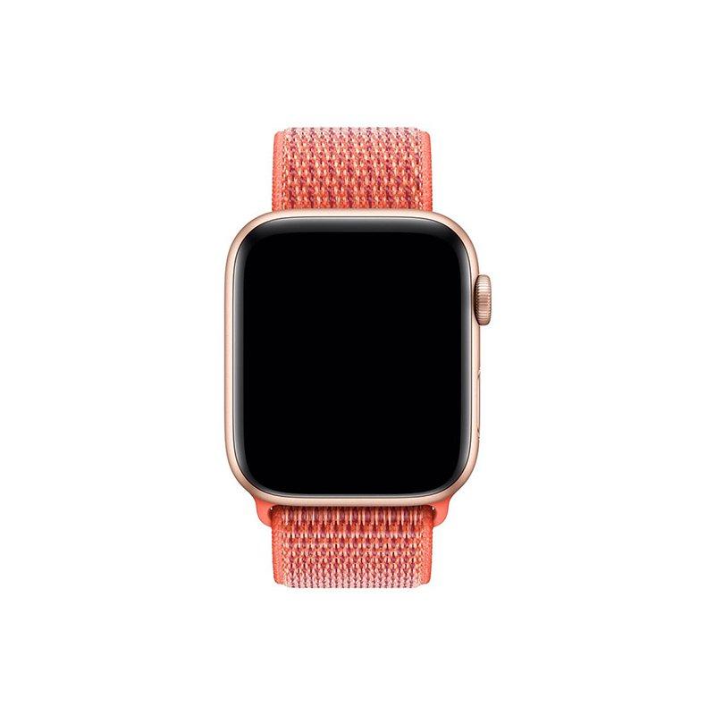 Remienok na Apple Watch 38mm/40mm látkový Nectarine