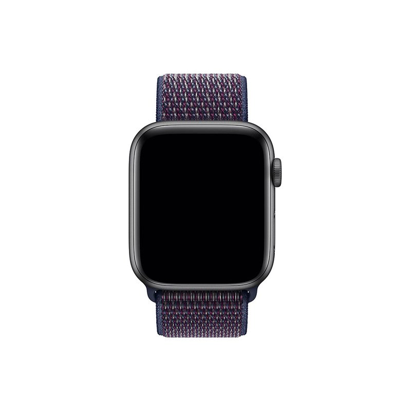 Remienok na Apple Watch 42mm/44mm látkový Indigo