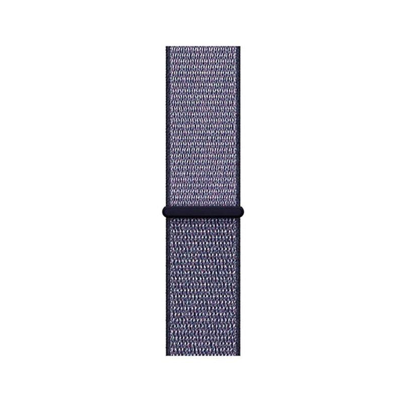 Remienok na Apple Watch 42mm/44mm látkový Deeple Blue