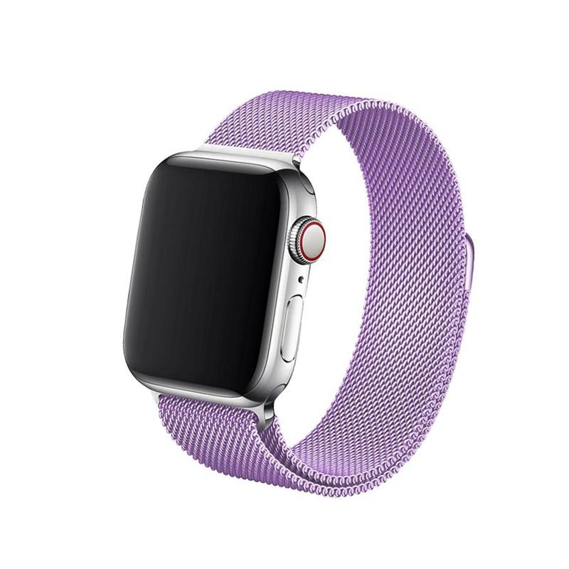 Remienok na Apple Watch 38mm/40mm Milanese Lavender