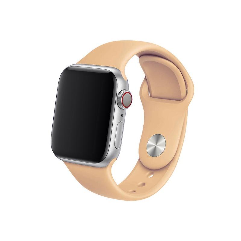 Remienok na Apple Watch 38mm/40mm svetlohnedý