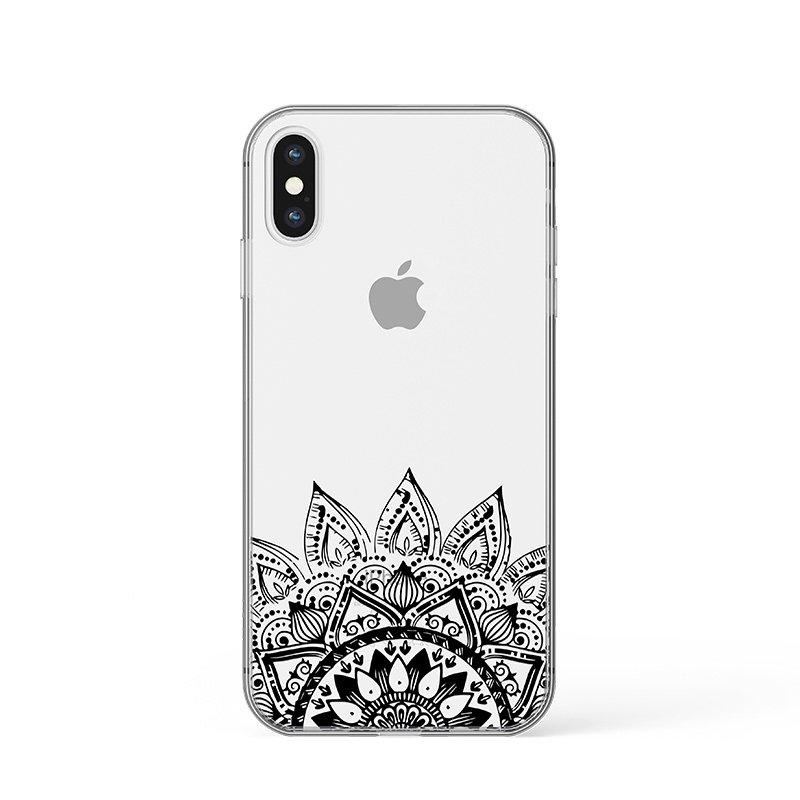 Black Mandala kryt na iPhone