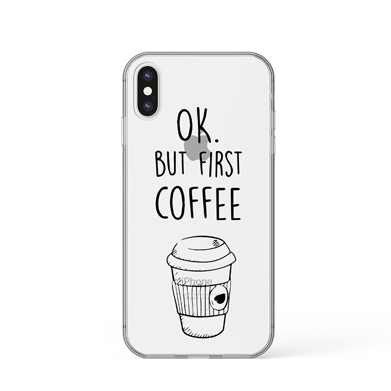 But first coffee kryt na iPhone