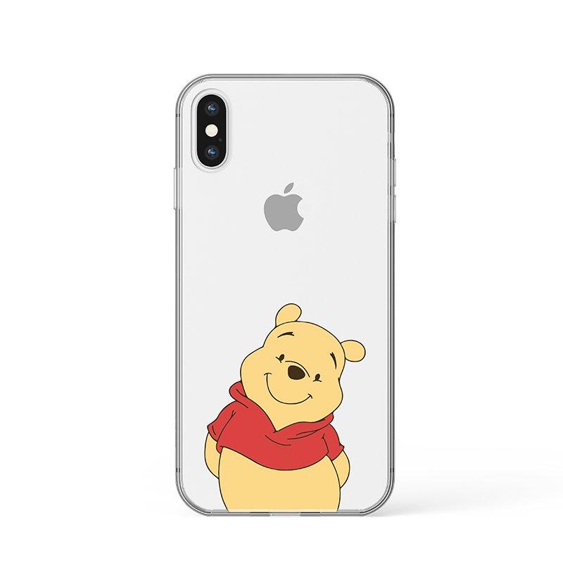 Macko Puf kryt na iPhone
