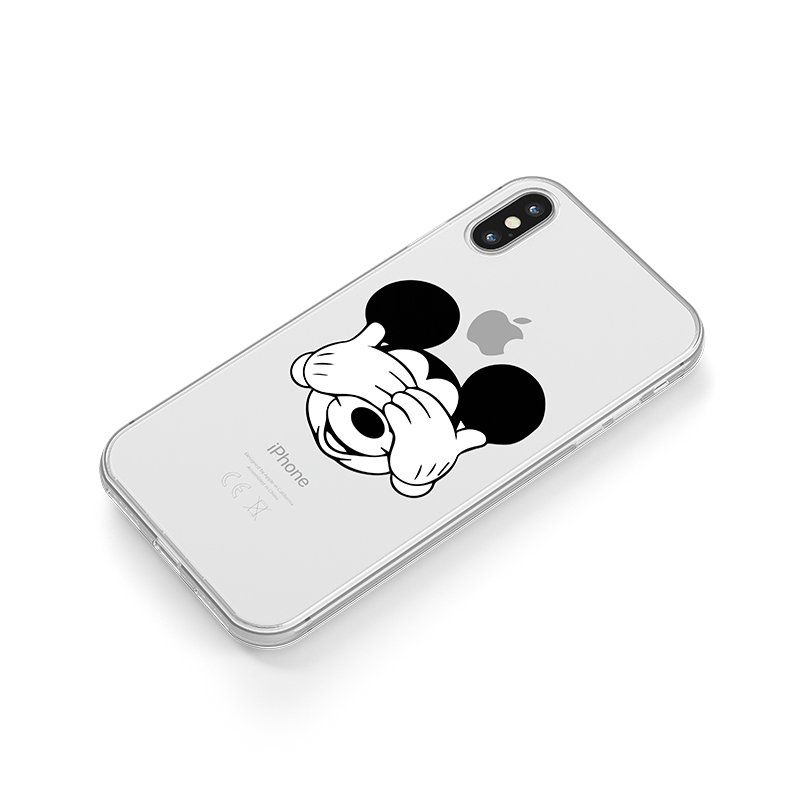 Mickey mouse kryt na iPhone modrý
