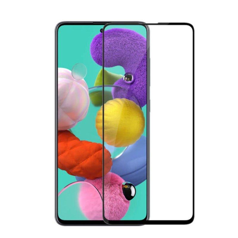 Ochranné tvrdené 3D sklo Black Samsung Galaxy A51