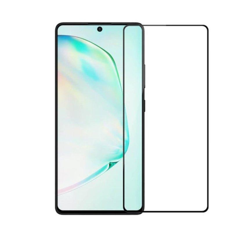 Ochranné tvrdené 3D sklo na Huawei P40 Lite Black