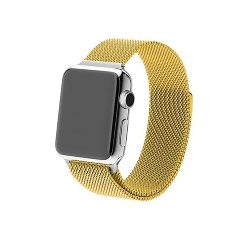 Remienok na Apple Watch 38mm/40mm Milanese zlatý