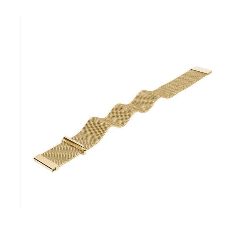 Remienok kovový 20mm Zlatý