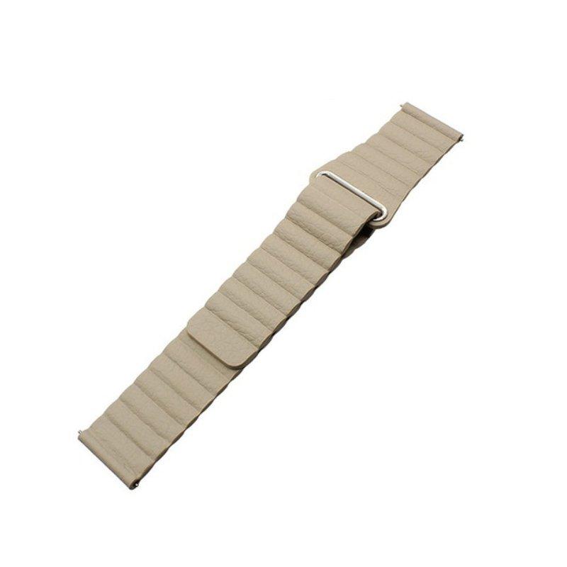 Remienok Leather Loop 20mm Khaki