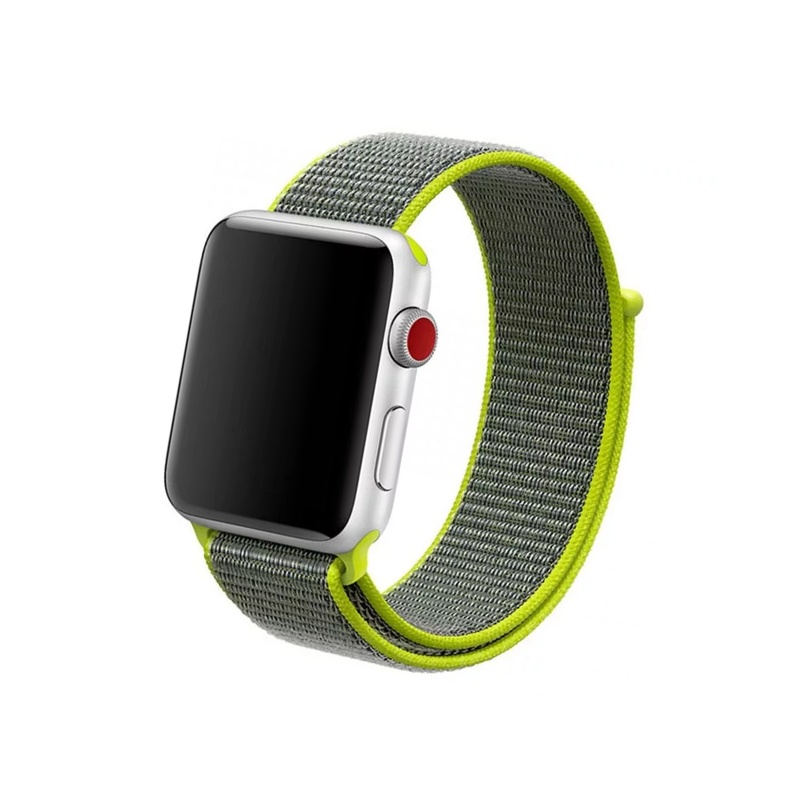 Remienok na Apple Watch 42mm/44mm Nylon Flash