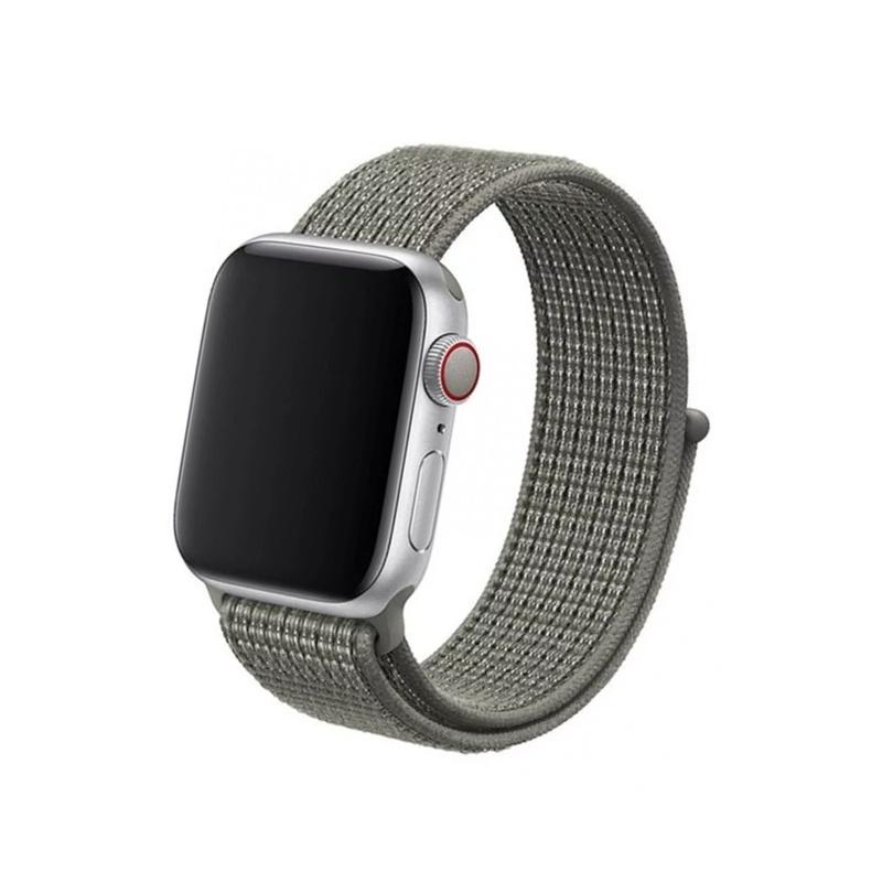 Remienok na Apple Watch 38mm/40mm Nylon Spruce Fog