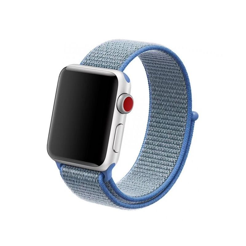 Remienok na Apple Watch 38mm/40mm látkový Tahoe Blue