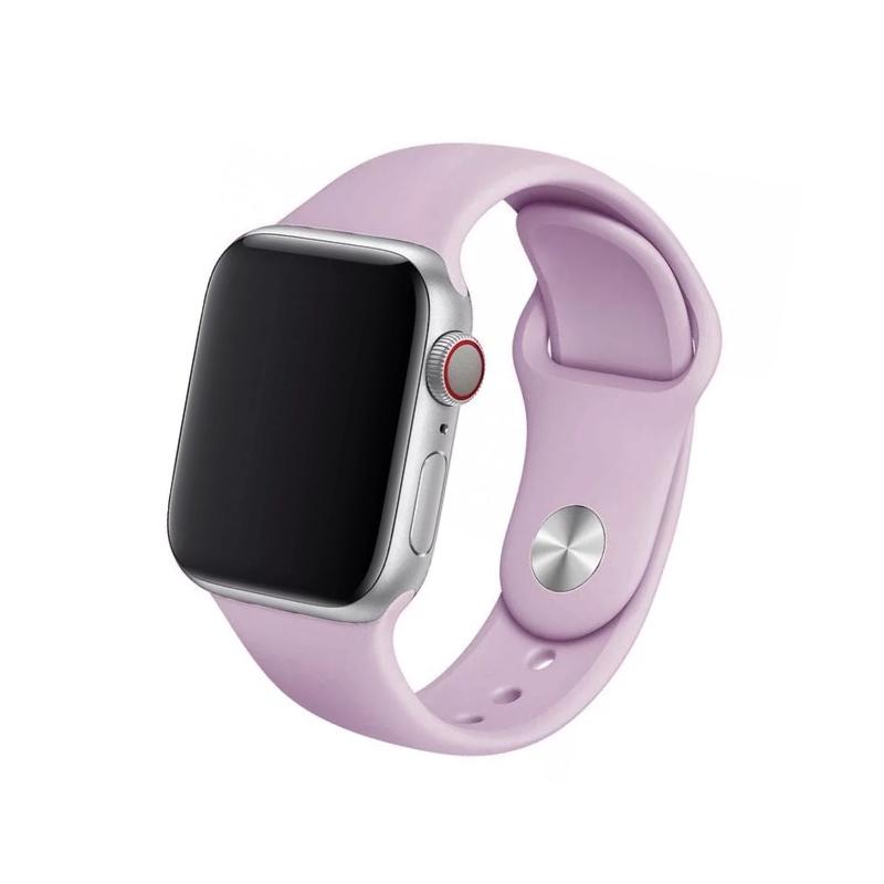 Remienok na Apple Watch 38mm/40mm silikónový Levender