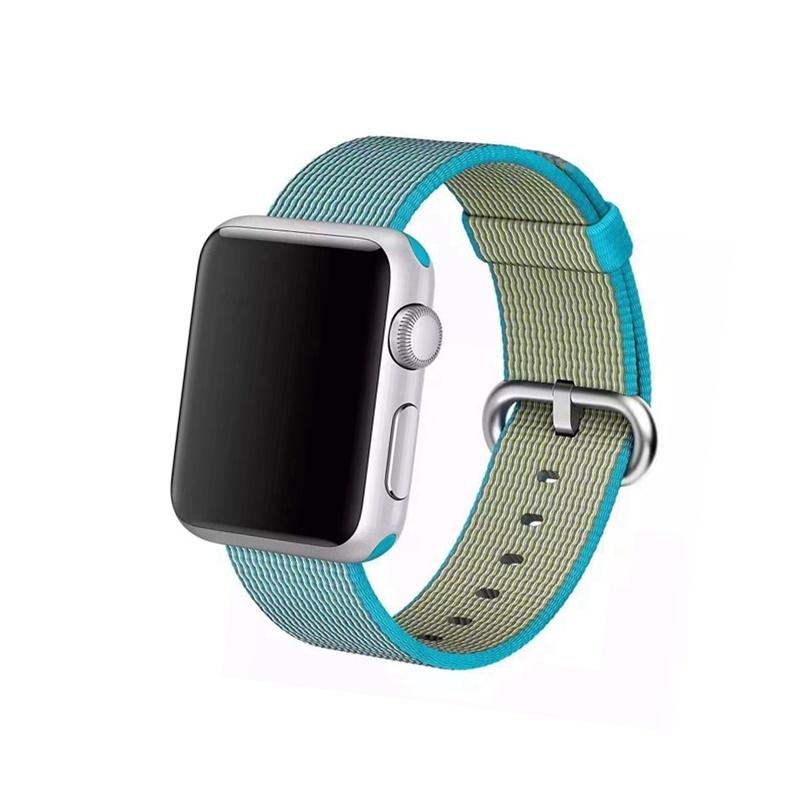 Remienok na Apple Watch 38mm/40mm Woven Blue
