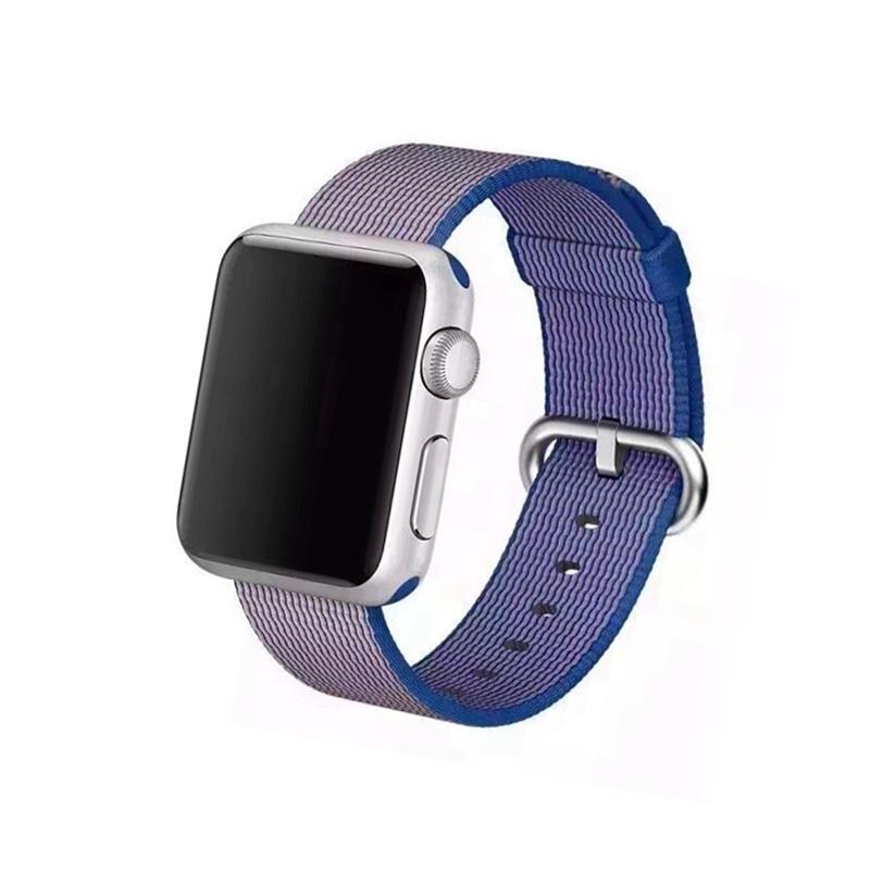 Remienok na Apple Watch 38mm/40mm Woven Dark Blue
