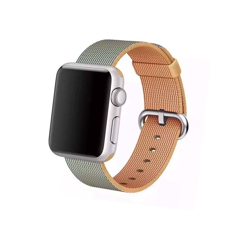 Remienok na Apple Watch 38mm/40mm Woven Orange