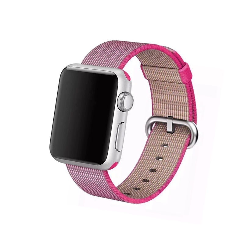 Remienok na Apple Watch 38mm/40mm Woven Pink