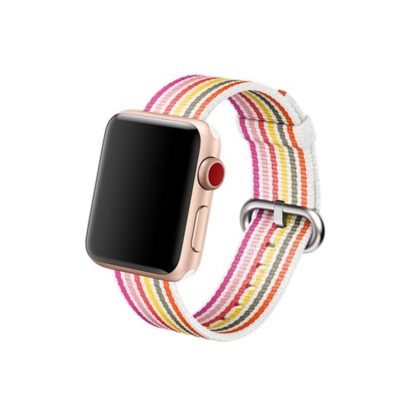 Remienok na Apple Watch 38mm/40mm Woven Pride