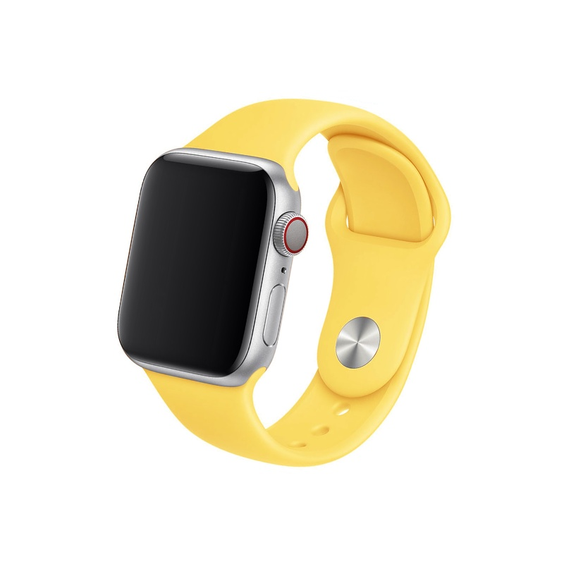 Remienok na Apple Watch 38mm/40mm žltý
