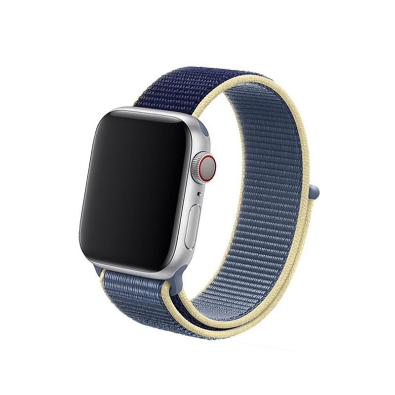 Remienok na Apple Watch 42mm/44mm Nylon Alaskan Blue