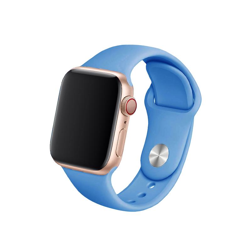 Remienok na Apple Watch 42mm/44mm príbojovo modrý