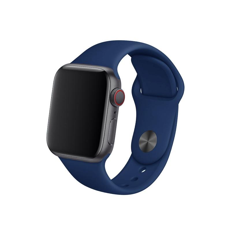 Remienok na Apple Watch 42mm/44mm polnočný modrý