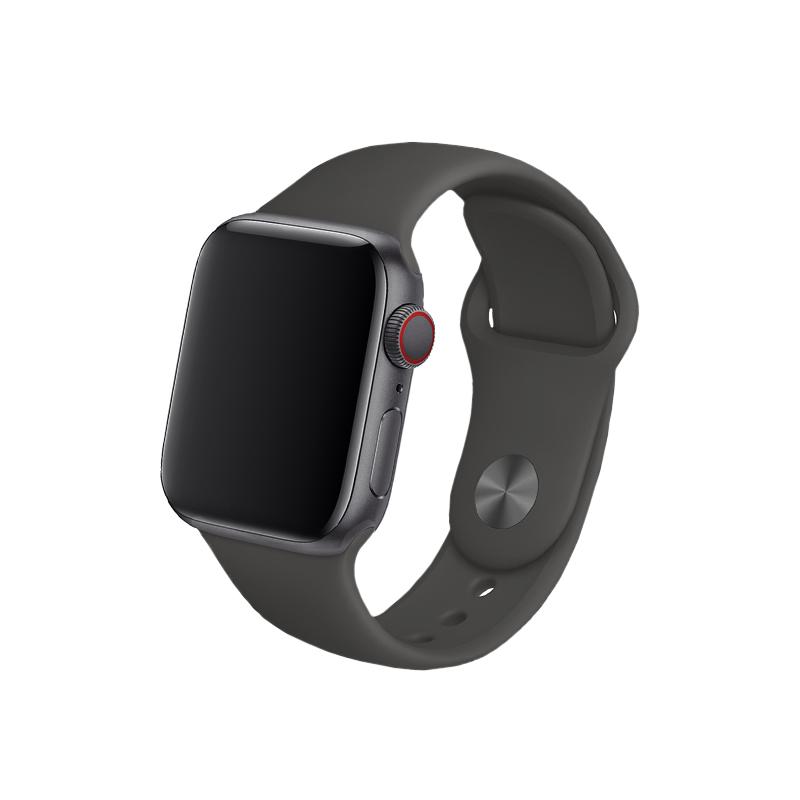 Remienok na Apple Watch 42mm/44mm silikónový tmavosivý