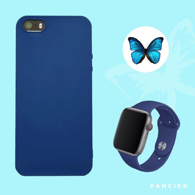 Remienok na Apple Watch 42mm/44mm modrý