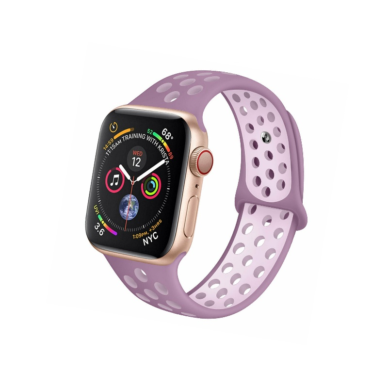 Remienok na Apple Watch 38mm/40mm sport fialový