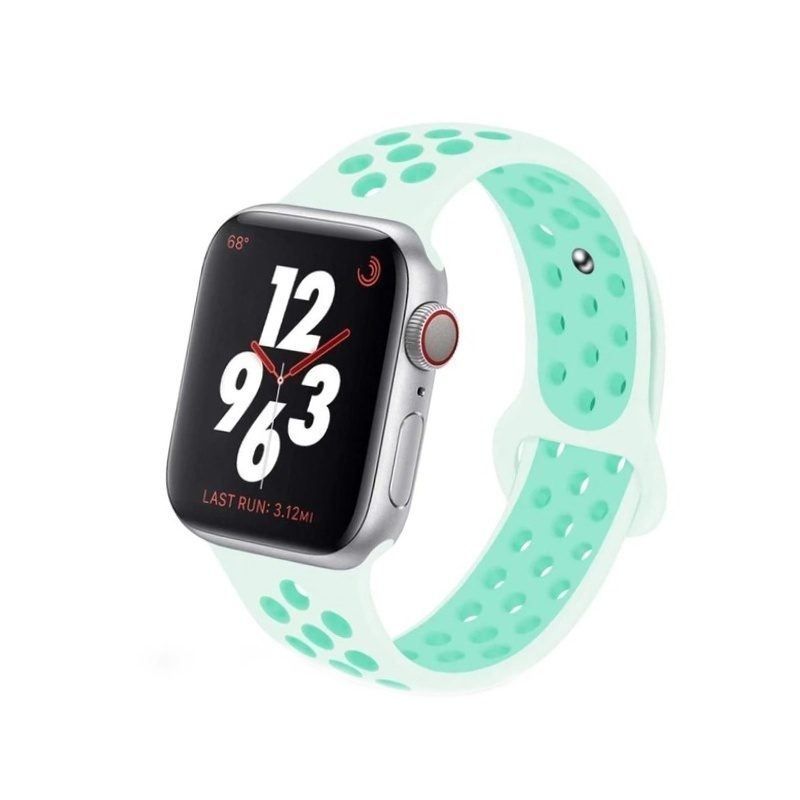 Remienok na Apple Watch 38mm/40mm sport mentolový