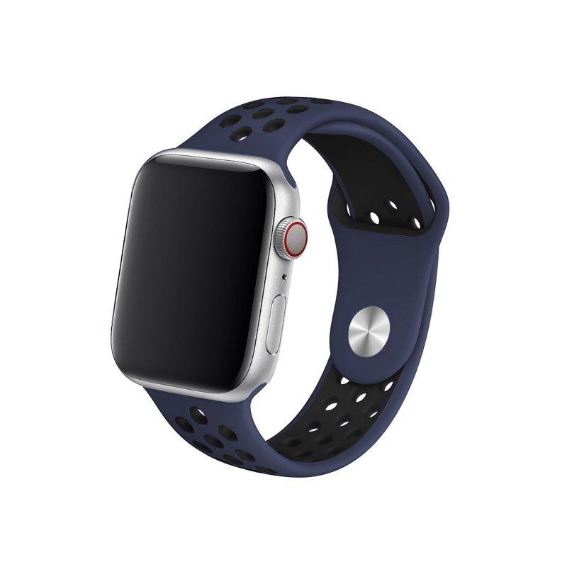 Remienok na Apple Watch 42mm/44mm sport blue-black