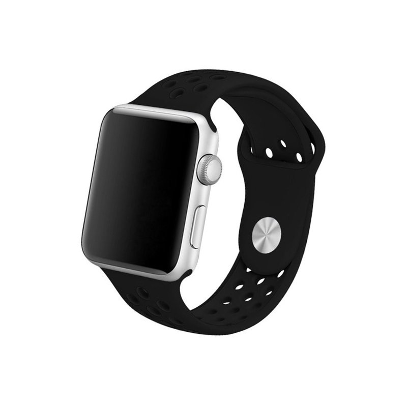 Remienok na Apple Watch 42mm/44mm sport čierny
