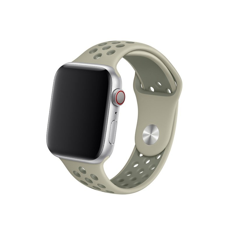 Remienok na Apple Watch 42mm/44mm sport sivý