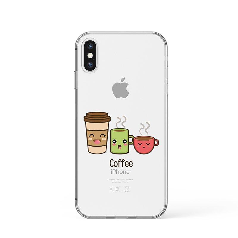 Varianty kávy kryt na iPhone