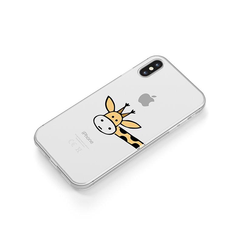 Žirafa kryt na iPhone