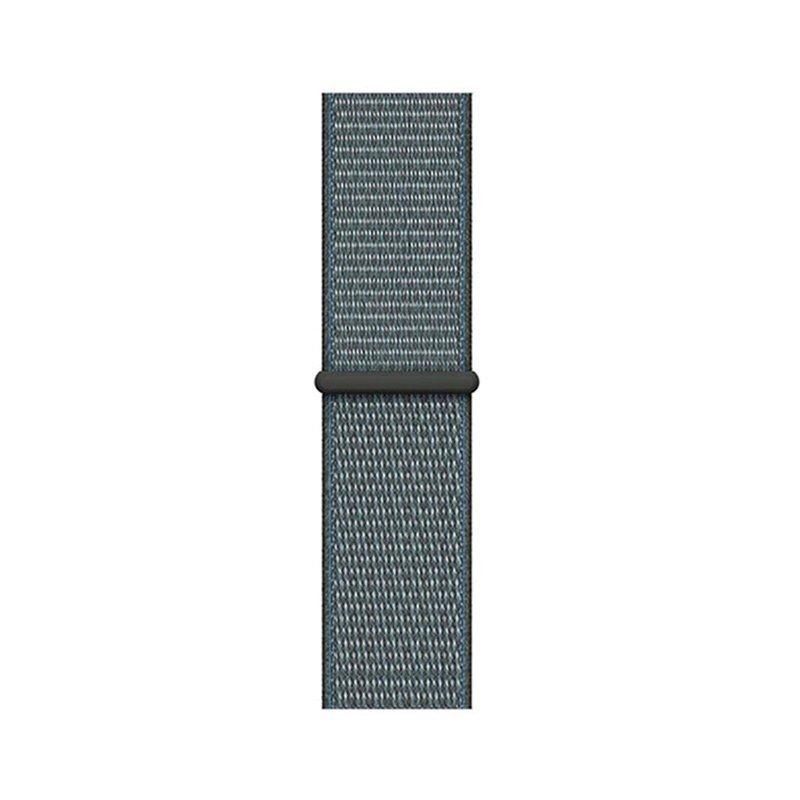 Remienok na Apple Watch 38mm/40mm látkový Storm Gray