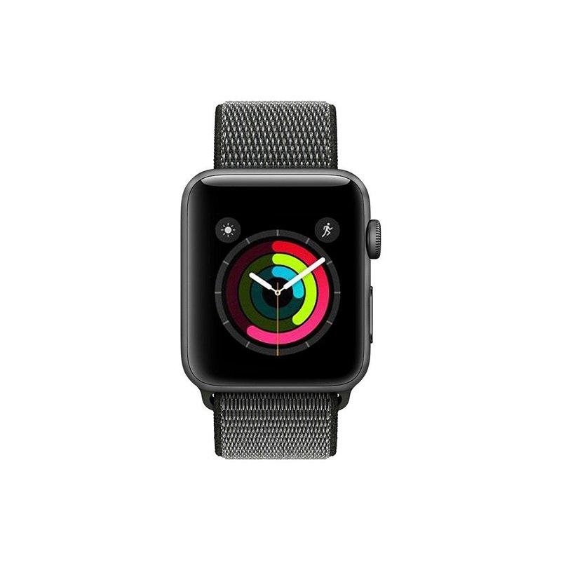 Remienok na Apple Watch 38mm/40mm látkový Dark Olive