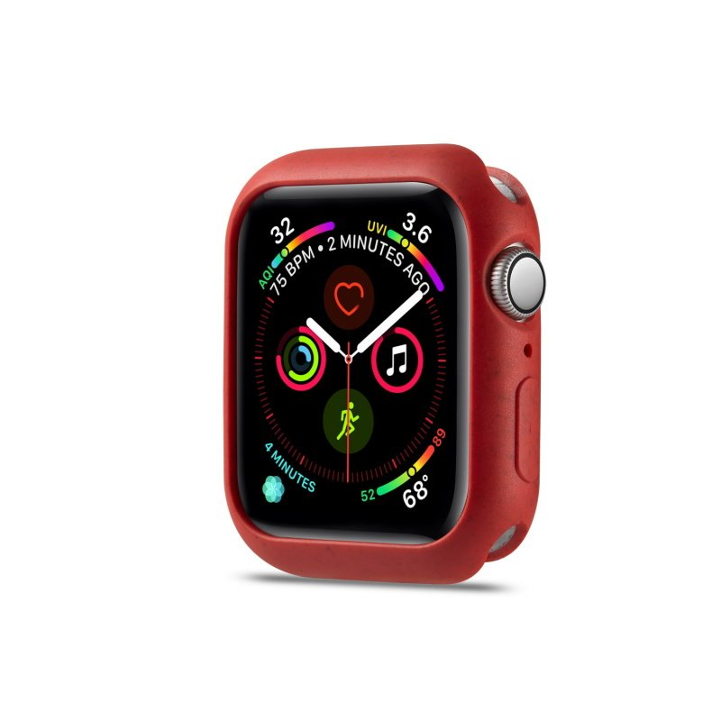 ECO Obal na Apple Watch 44mm silikónový Red