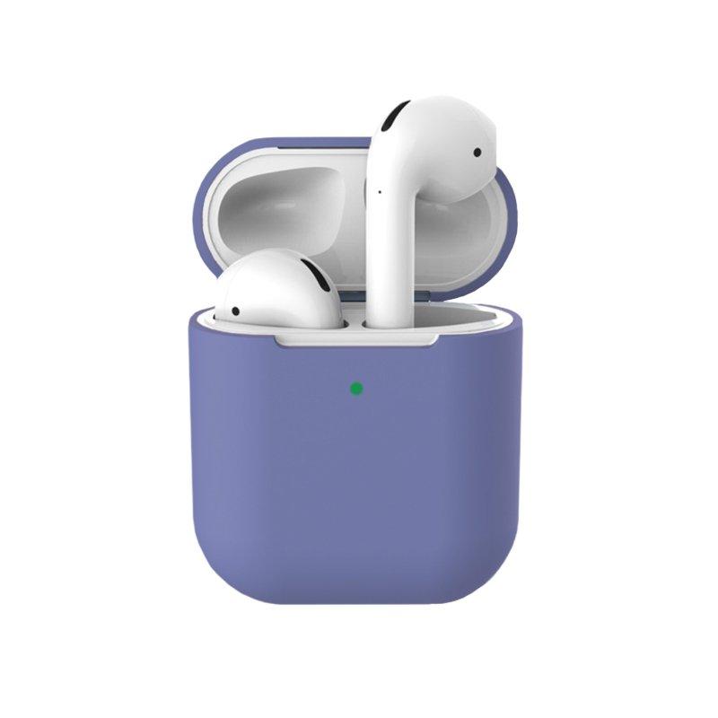 Obal na AirPods silikónový Lilac