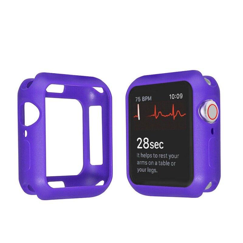 Obal na Apple Watch 38mm silikónový purple