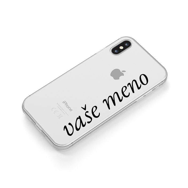 Vaše meno kryt na iPhone ružový