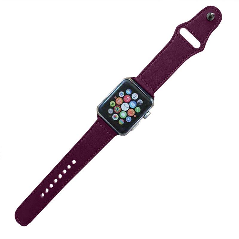 Remienok na Apple Watch 38mm/40mm kožený Bodrový